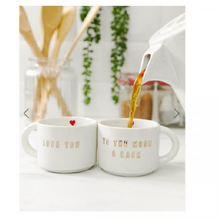 Set van koffietassen