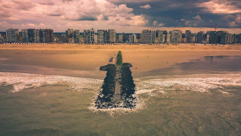 België & Nederland – hier aan de kust