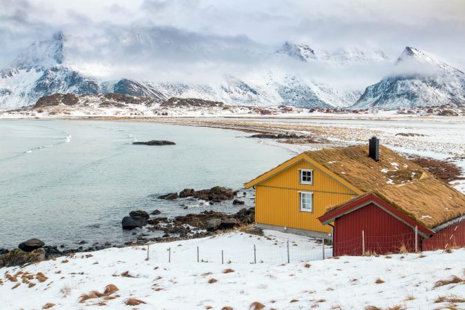 Lofoten, Noorwegen – surf & sneeuw