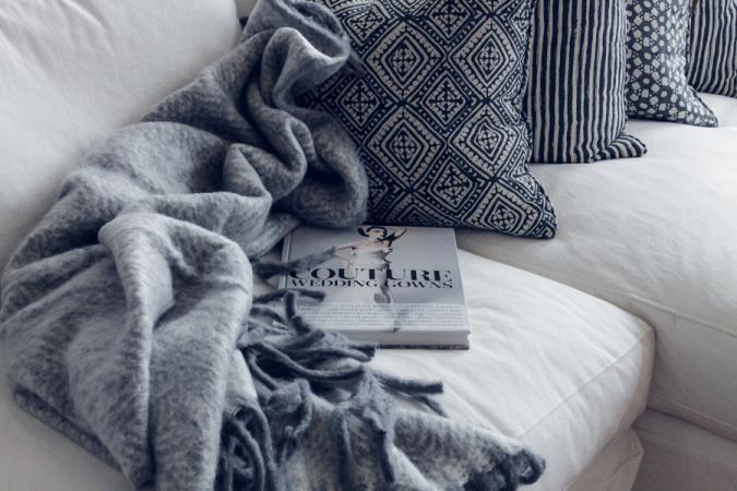 Drie soorten kussens in de sofa
