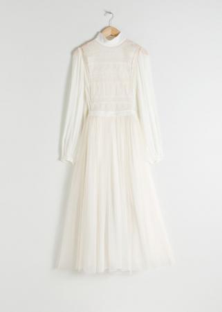 Robe de mariée en polyester recyclé