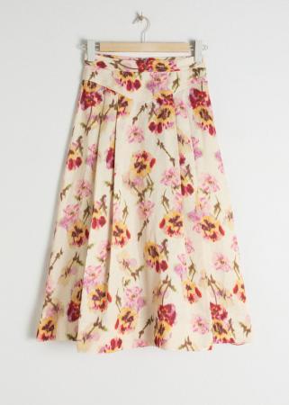 Jupe floral