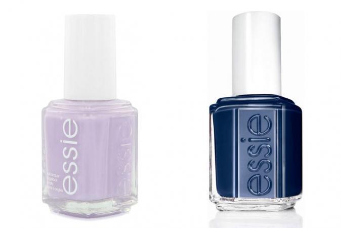 Lavendel + marineblauw