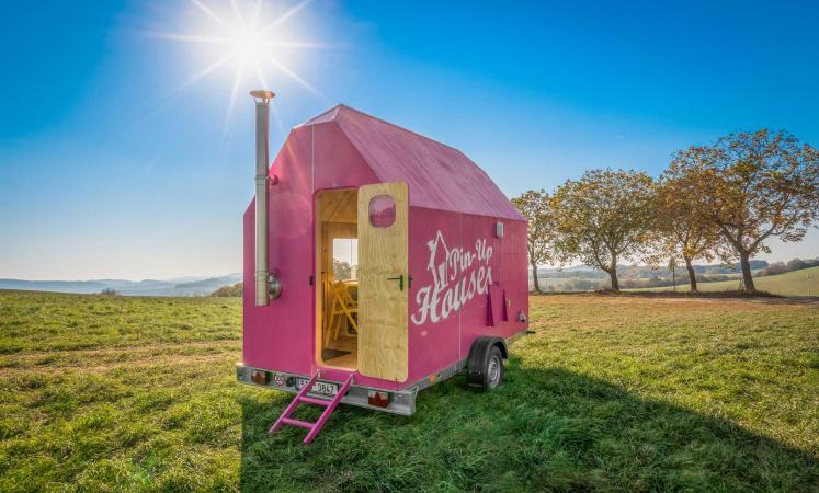 Het Magenta Tiny House