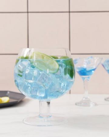 Fish bowl-glas