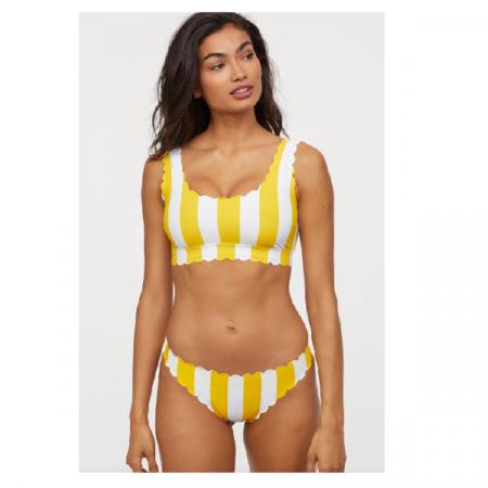 Gele bikini