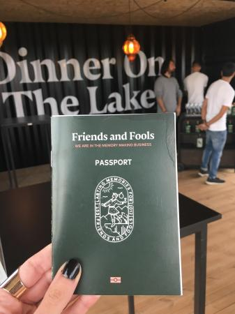 Onze boarding pass