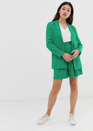 Pop green suit short