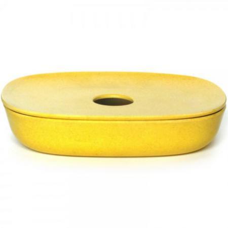 Porte-savon en fibre de bambou