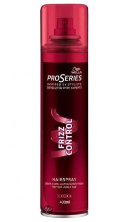Pro Serie Frizz Control haarlak (400 ml)