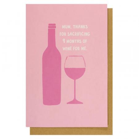Sacrificing wine