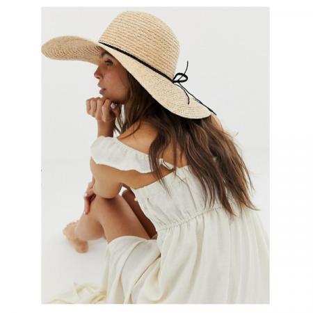 Rieten hoed