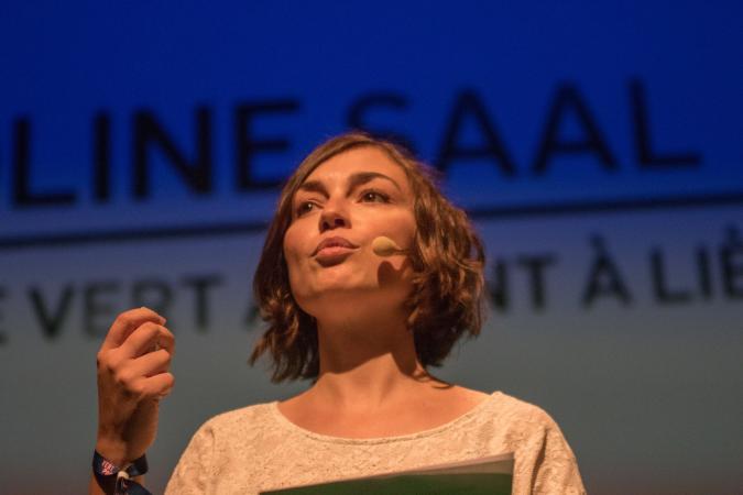 Caroline Saal, 31 ans, Conseillère communale à Liège, Vert Ardent