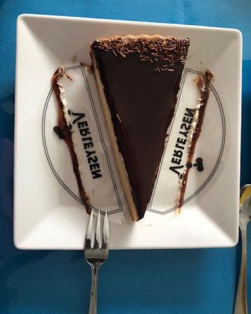 Cheat meal 3: stukje taart voor mijn broer zijn verjaardag