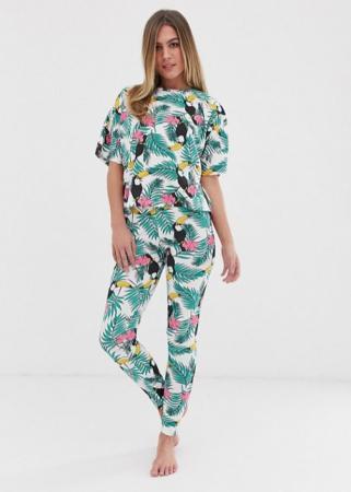 Pyjama met toekans
