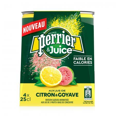 Perrier & Juice Citroen – Guave