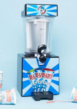 Slush puppie-machine