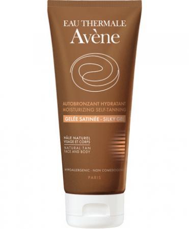 Self-tanning silky gel van Avène