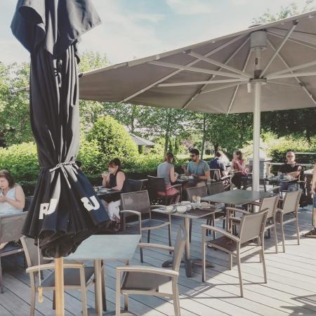 Valérie: Le restaurant du Koru Hotel à Autre Église