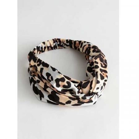 Haarband met luipaardmotief