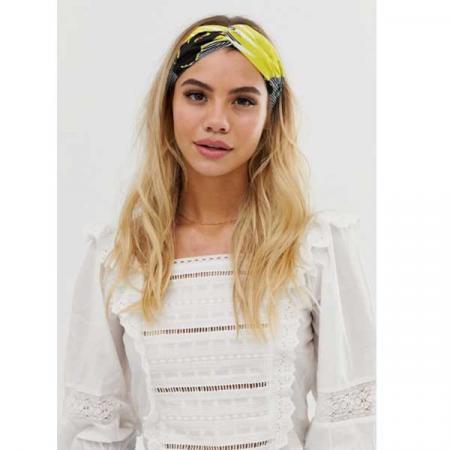 Haarband met print