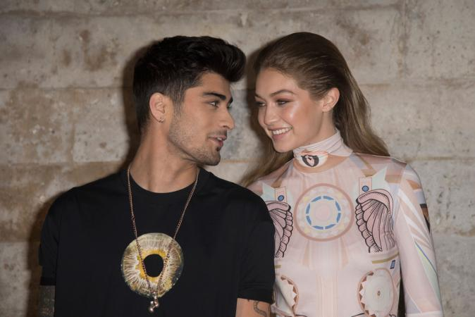 Gigi Hadid (24) & Zayn Malik (26)