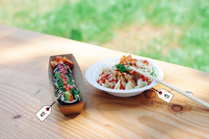 Kimbap (veggie Korean sushi) & Mandu (dumplings met tofu en groenten) – Table d'Ho