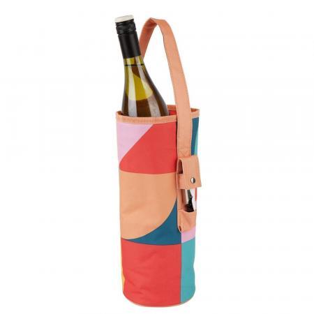 Koeler voor wijnfles + opener