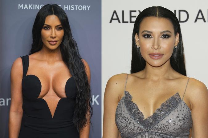 Kim Kardashian – Naya Rivera ('Glee')