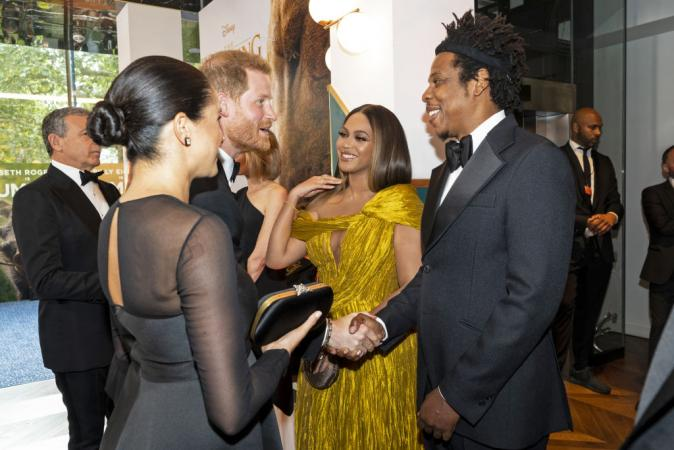 Prins Harry en Meghan Markle ontmoeten Beyoncé en Jay-Z