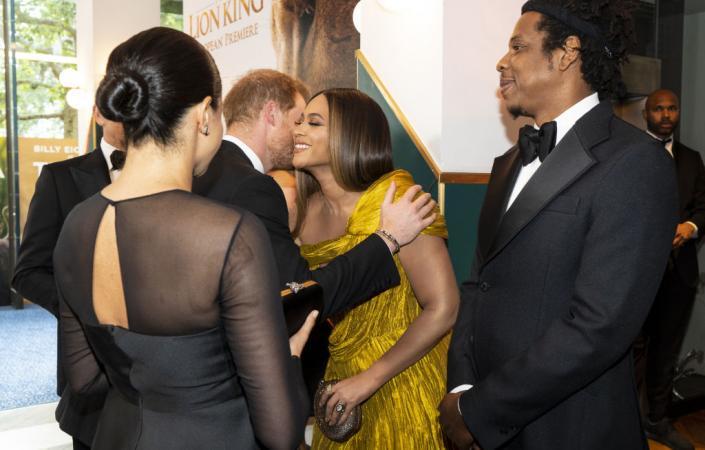 Prins Harry en Beyoncé
