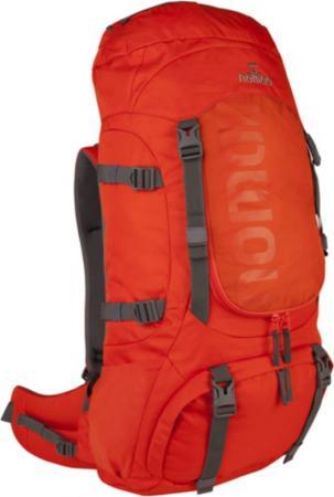Oranje trekrugzak (55 liter)