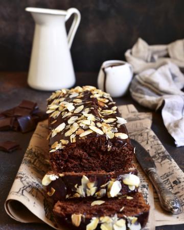Chocoladetaart met amandel