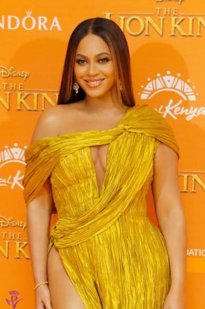 Natuurlijke balayage zoals Beyoncé