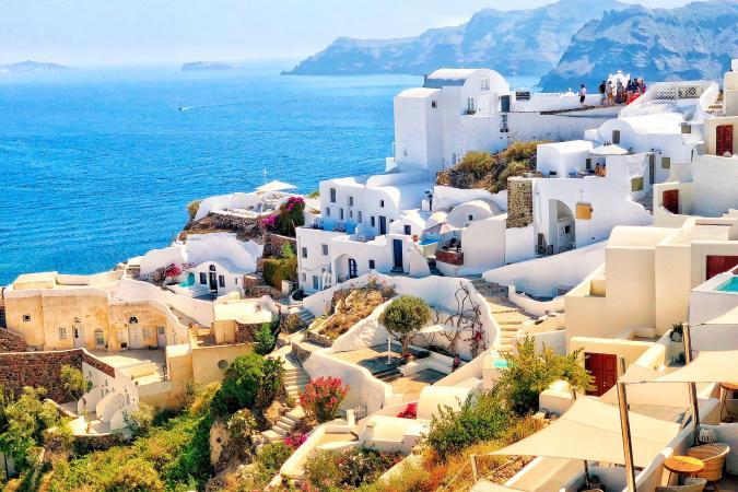 Santorini, Griekenland