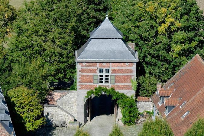 Duplex in toren van kasteelboerderij
