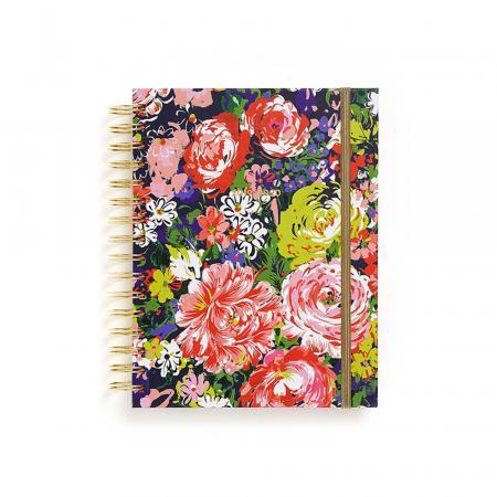 Schoolagenda bloemenprint