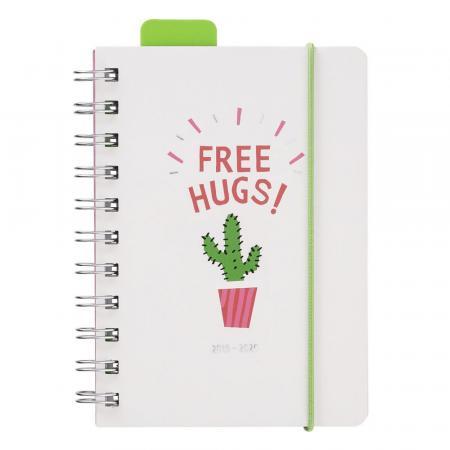 Schoolagenda 'Free Hugs'