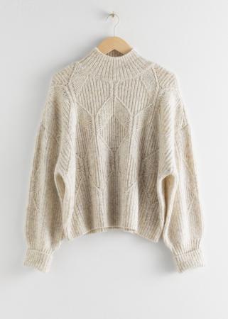Een oversized sweater