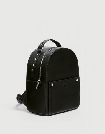 Sac à dos noir style urbain – Pull & Bear