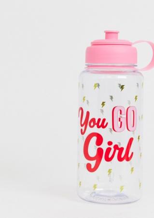 Waterfles met opschrift 'You go girl'