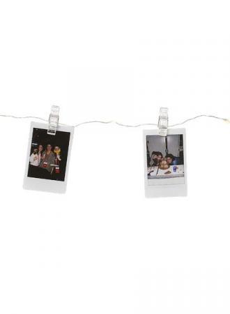 Guirlande photos lumineuse