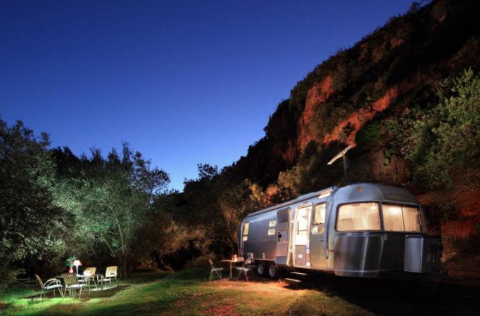 In een Airstream Camper – Andalusië, Spanje