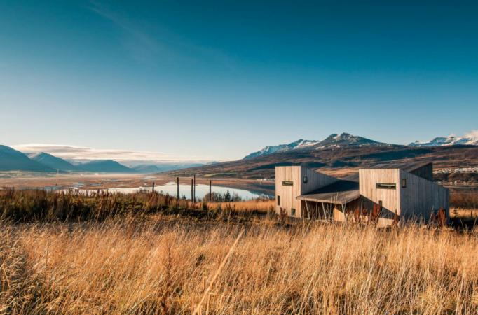 In een lakehouse – Akureyri, IJsland