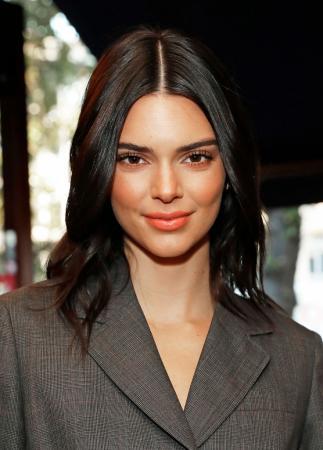 Nonchalante lob zoals Kendall Jenner