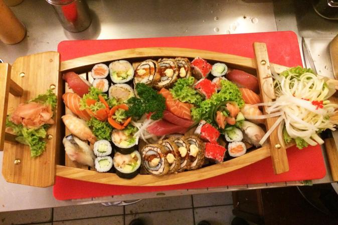 Saki Thai & Sushi Restaurant in Leuven