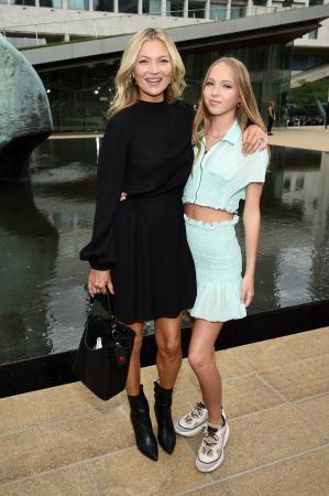 Kate Moss en Lila Moss