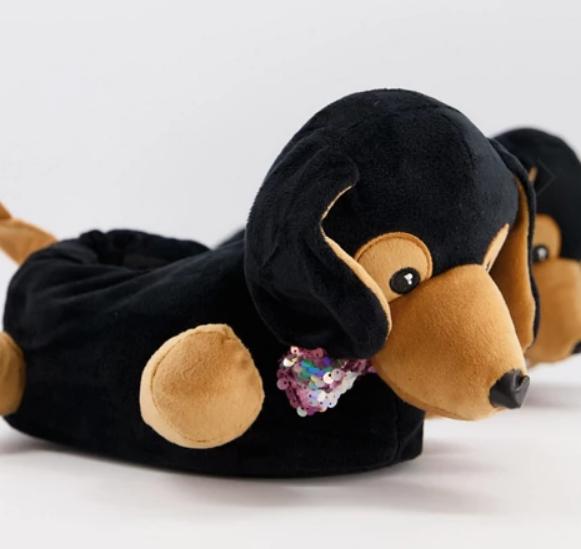 Pantoufles chien