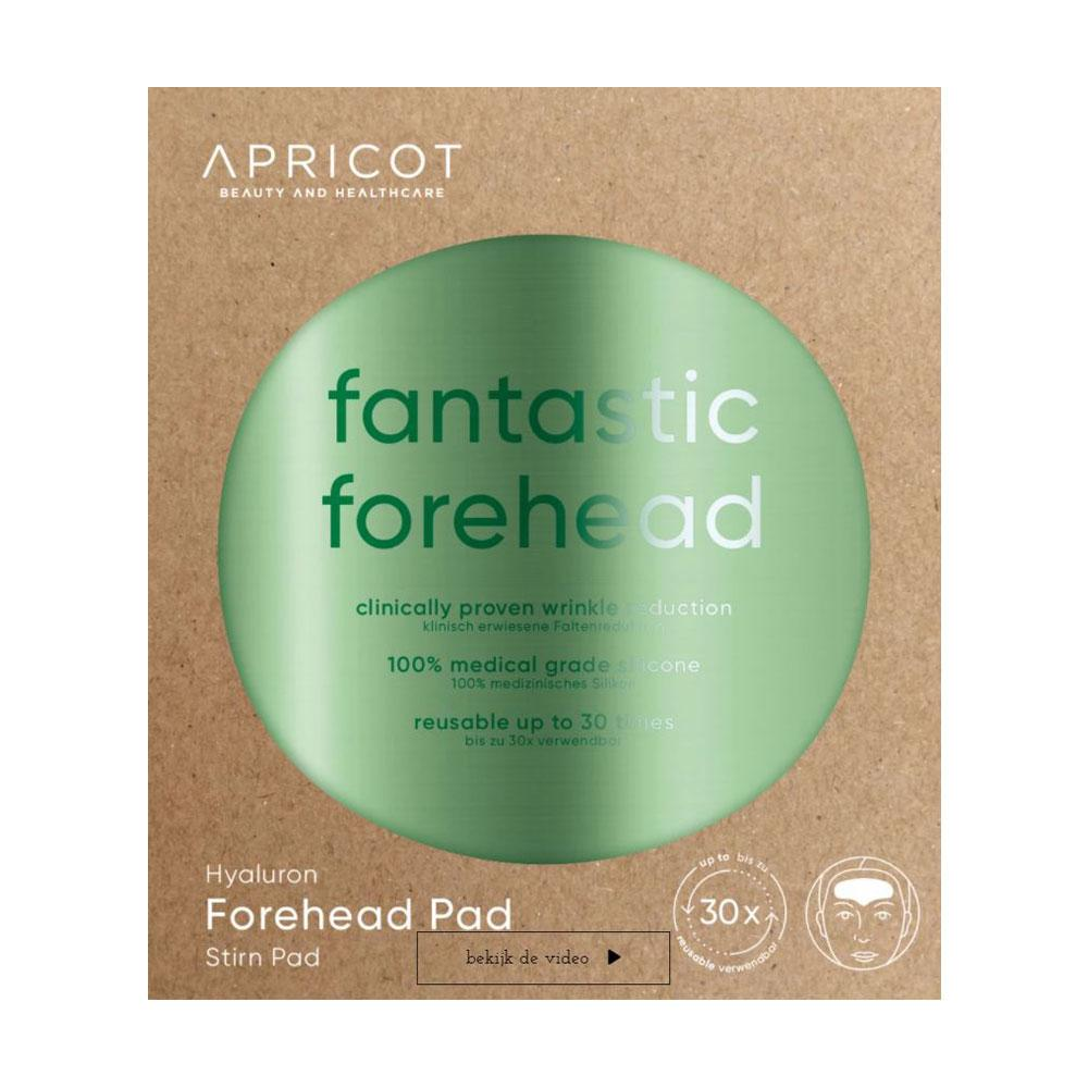 Des pads Hyaluron Fantastic Forehead d'Apricot Beauty