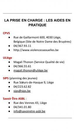 Qui contacter (Liège)